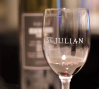 StJulian_WineGlassandBottle