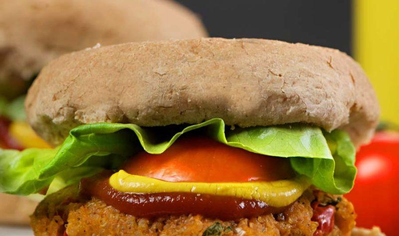Sweet Potato and Quinoa Burgers