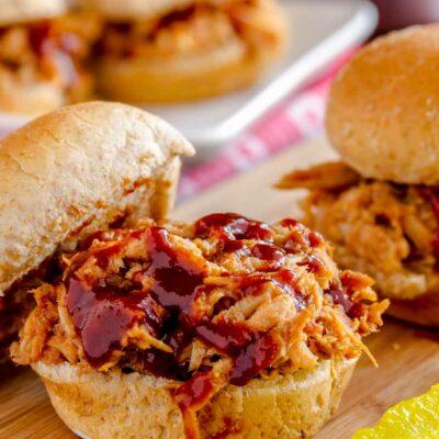 Instant Pot Pulled Pork Sandwich